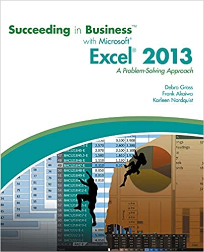Succeeding In Business With Microsoft Access 2013 Pdf
