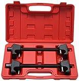 M2 Outlet 2pc Coil Spring Compressor For MacPherson Struts Shock Absorber Car Garage Tool