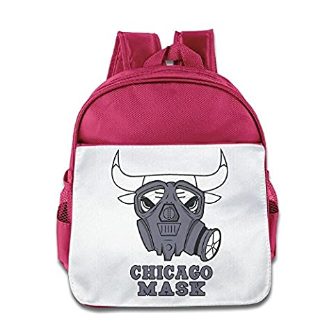 LINNA Personalized Chicago Mask Basketball Team Teenager School Bagpack Bag For 1-6 Years Old Pink (Oklahoma Championship Ring)