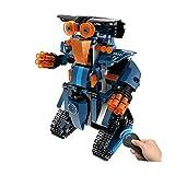 Gbell DIY Building Blocks Smart RC Robot,Walking Electronic Robot STEM Toy for Kids