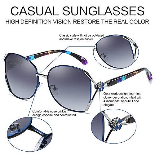 CASPAR SG042 große XL Retro Hippie Sonnenbrille Pilotenbrille Policebrille Etui