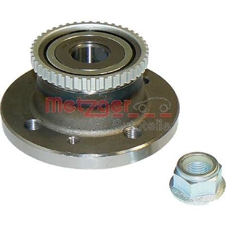 Amazon.com: METZGER Wheel Bearing Kit For RENAULT Laguna I ...