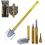 Vitrust Folding Camp Shovel Kit Multitool Folding Shovel...