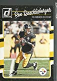 2016 Panini Donruss Football Pittsburg Steelers Team Set 12 Cards W/Rookies Antonio Brown Ben Roethlisberger Terry Bradshaw