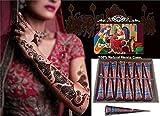 Henna Body Paints Tattoos Cones Temporary T…