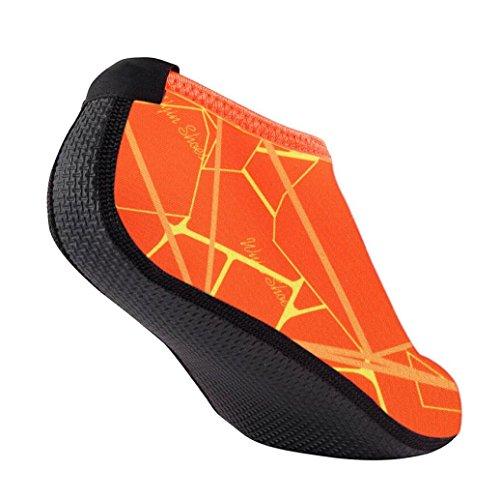 de Chaussures Orange wuayi Aquatiques Sports Femme f0xYq