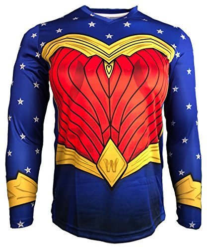 20dc3d5a495 Geko Sports Wonder Woman Goalkeeper Jersey (Women s Large)