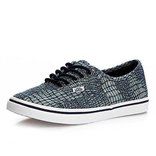 Vans U Authentic Lo Pro - Zapatillas de tela unisex Azul