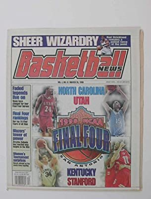 March 30,1998 Basketball News Final Four Ncaa Utah,unc,kentucky Stanford