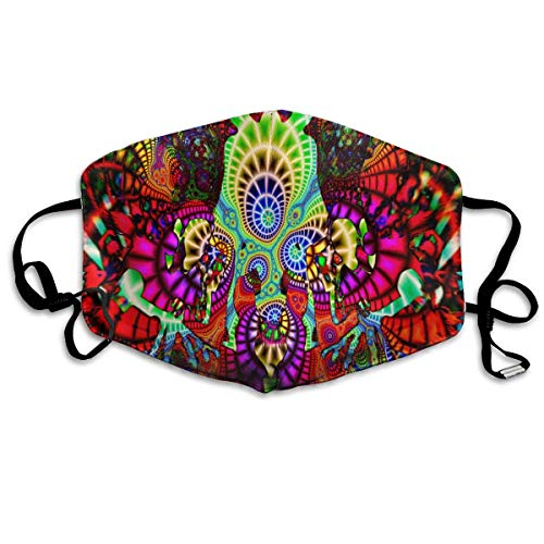 Jliming Beautiful Pattern GUOER Mask Can Be Washed Reusable Mask One Size Multiple Colors - Glow Devil Duck