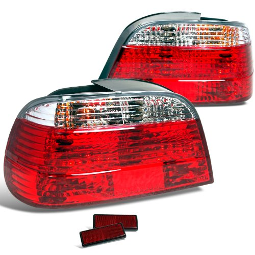 Spec-D Tuning LT-E384RPW-APC Bmw E38 750il 740I 7 Series Euro Tail Lights