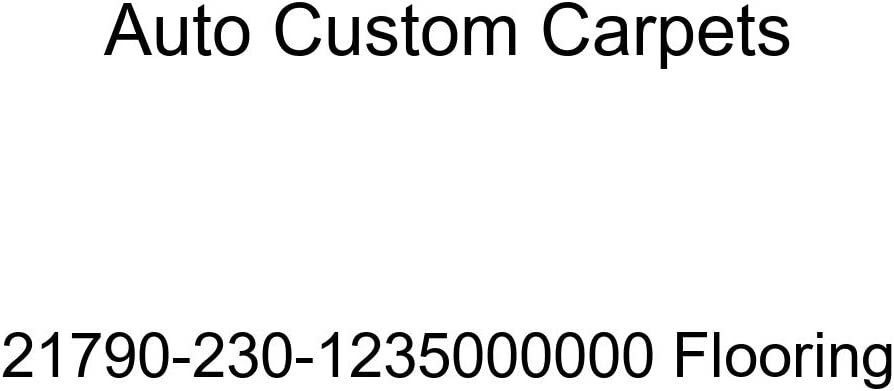 Auto Custom Carpets 21790-230-1235000000 Flooring
