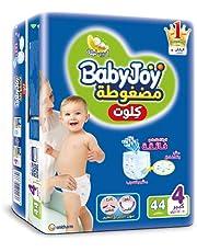 Baby Joy Diapers Culotte Unisex L Size 4-40 Plus 4 Pieces