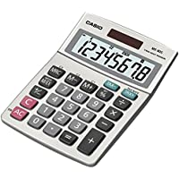 Casio MS-80S Standard Function Desktop Calculator Pack of 3