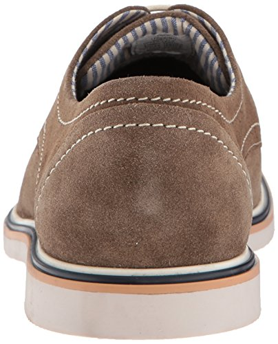 Steve Madden Mens Frick Oxford Taupe Scamosciato