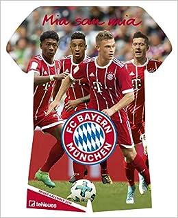 Fc Bayern Trikotkalender 2018 Bayern Kalender Fankalender