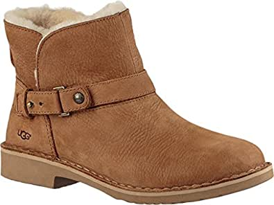 Amazon.com | UGG Women's Aliso Bootie, Chestnut Nubuck, US