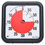 jumbo timer - Time Timer Original 12 inch; 60 Minute Visual Analog Timer; Optional (On/Off) Alert; No Loud Ticking; Time Management Tool