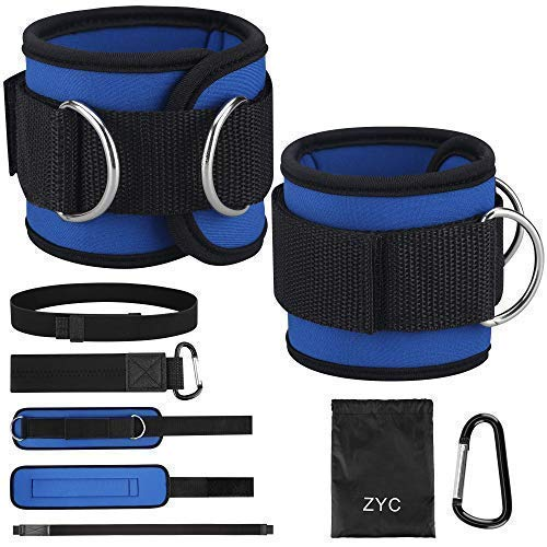 BWSS Ankle Straps 2PCS Resistance Bands for Legs, Butt and Sport, 1 Pair Ankle Straps For Cable Machine to Exercise Leg…