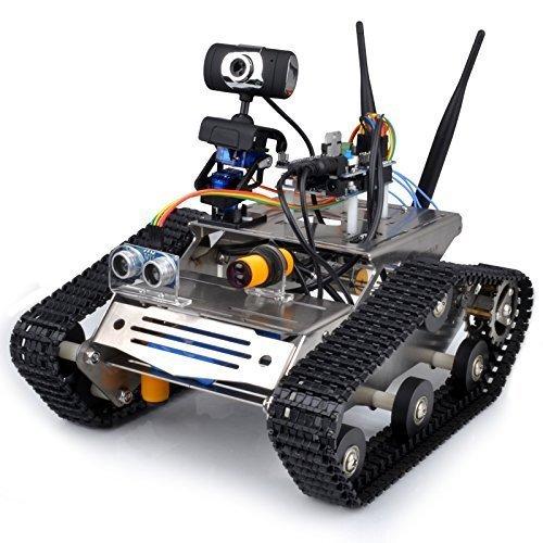 Arduino, HD 카메라를위한 Longruner WIFI 로봇 자동차 키트 ..
