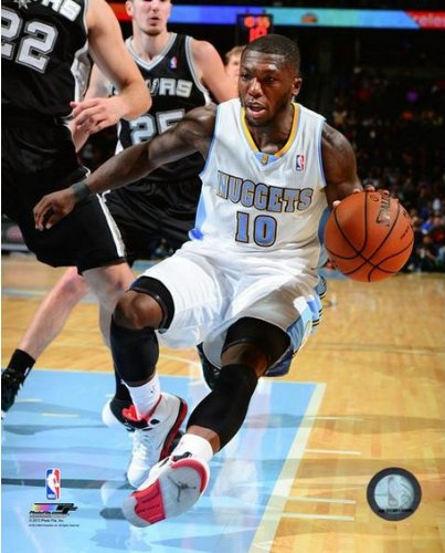 Nate Robinson Denver Nuggets 2013-2014 NBA Action Photo 8x10 (Nate Robinson Basketball)