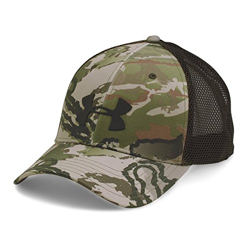 Under Armour Men's Camo Mesh 2.0 Cap, Ridge Reaper Camo Ba/Cannon, One Size