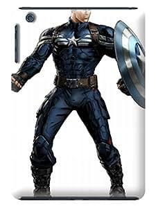 Otterbox defender series tpu phone case for ipadmini(Marvel Avengers Captain America) by Shari Flanders