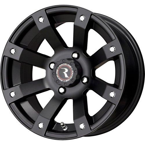 "Raceline Scorpion Black Wheel with Machined Face Finish (14x7""/4x110mm)"