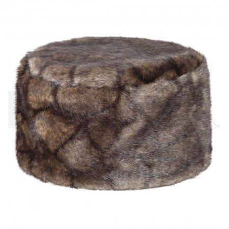 Dubarry Avoca Women's Faux-Fur Pill Box Hat, Elk, M/L