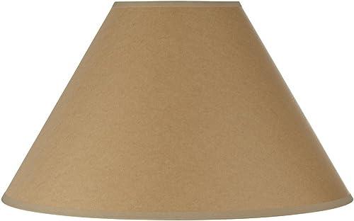 Cal Lighting SH-8109 15-KF Vertical Basic Coolie Kraft Paper H, Beige