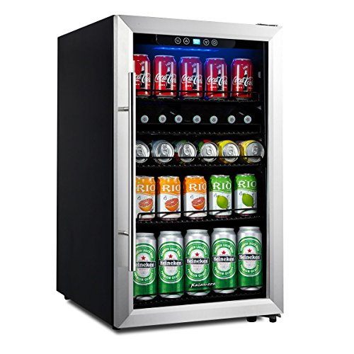 glass beverage refrigerator - 4