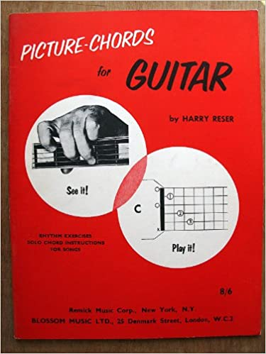 Picture-chords for guitar: Harry Reser: Amazon.com: Books