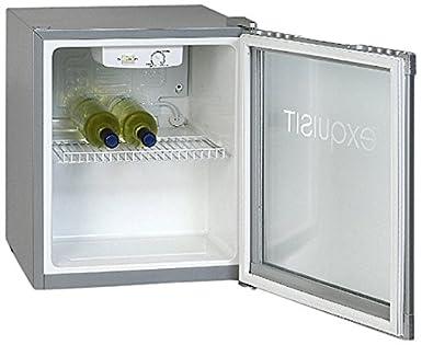 Minibar Kühlschrank Glastür : Exquisit kb01g freistehend 50l edelstahl kühlschrank: amazon.de