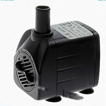 Fangfeen Piscina de la Fuente Peces de Acuario Tanque silencioso Bomba de Agua de circulación pequeña Bomba de Agua Sumergible de Ahorro de energía: ...