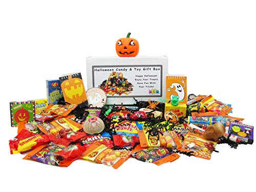 Halloween Candy & Toy Gift Box (Gourmet Treat Box)