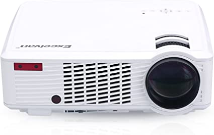 Excelvan – LED33 – 02 proyector LED 2000 lúmenes Proyector HD PC ...