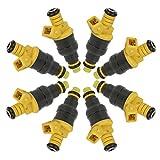 Fuel Injectors For Ford F-150 F-250 F-350 E-150 E-250 E-350 Econoline Club Wagon 4.6L 5.0L 5.4L 5.8L 1991 1992 1993 1994 1995 1996 1997 1998 1999 2000 20001 2002 Replaces 0280150718 by DOICOO(8PCS)