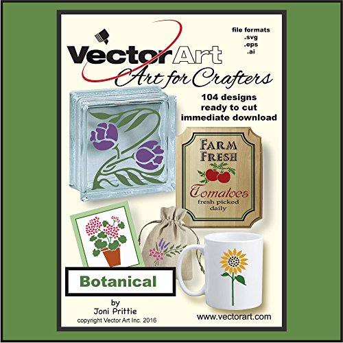 Botanical Clipart (Botanical SVG Clipart for Crafters)