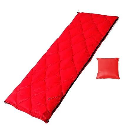 MIAO al aire libre Camping saco de dormir de adulto ultraligero Sobre con plumas primavera y