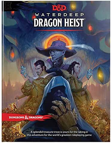 D&D Waterdeep Dragon Heist HC (Dungeons & Dragons)