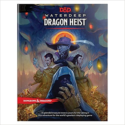 D/&D Waterdeep Dragon Heist HC