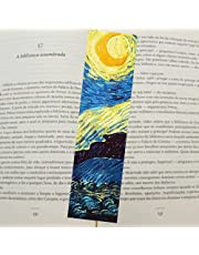 Marcador de página - Noite estrelada de Vincent van Gogh