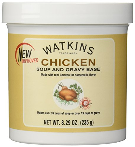 Watkins Chicken Soup and Gravy Base Net Wt 8.29oz (235g) (Watkins Chicken Soup Base compare prices)