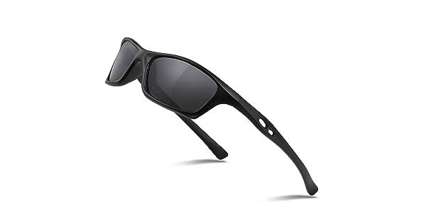 283cf43762a Duduma Mens and Womens Polarized Sports Sunglasses for Baseball Softball  Fishing Golf Running Cycling Driving Hiking Unbreakable Shades Du649(Black  Matte ...