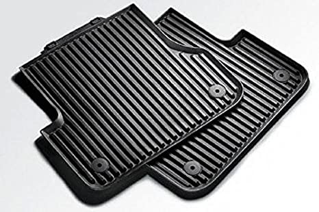 CFMBX1AU9241 Nylon Carpet Black Coverking Custom Fit Floor Mats for Audi A4 AllRoad