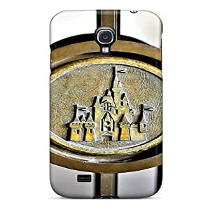 Premium Durable Castle Gate Fashion Tpu Galaxy S4 Protective Case Cover