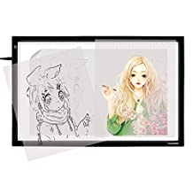 Huion A2 LED Tracing Board Light Box for Tracing Picture with Adjustable Brightness