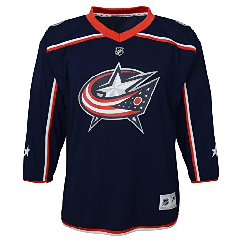 - Outerstuff NHL NHL Columbus Blue Jackets Toddler Replica Jersey-Home, Navy, Toddler One Size