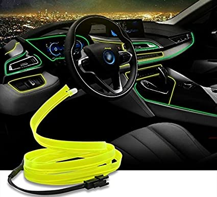 Amsik Dashboard Interior Led Light Glow Strip Neon Strip