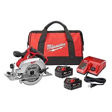 Milwaukee 2630-22 18-Volt 6-1/2 Circular Saw Kit